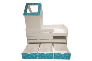 Кровать выдвижная с ящиками Домик - Мебельная фабрика «ПМК ВиП»