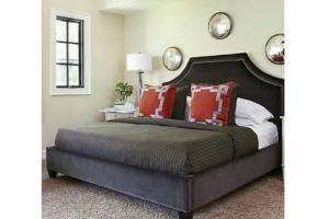 Кровать высокая Вилена - Мебельная фабрика «RNG»