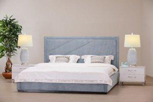 Кровать Жардин с гвоздевой лентой - Мебельная фабрика «Маск»