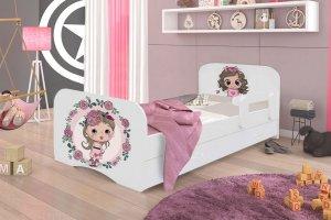 Кроватка детская Девочка с Розами-2 - Мебельная фабрика «Аристократ»