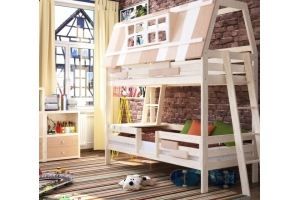 Кроватка детская Домик у озера - Мебельная фабрика «DOMUS MIA»