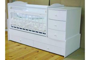 Кроватка детская Кирюша - Мебельная фабрика «Красная звезда»