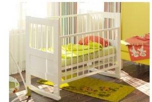 Кроватка Герда (колесо-качалка) - Мебельная фабрика «Атон-мебель»