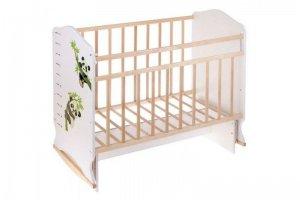 Кроватка Морозко  качалка с маятником - Мебельная фабрика «AvtoBaby»