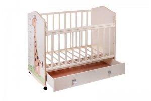 Кроватка Морозко маятник ящик - Мебельная фабрика «AvtoBaby»