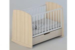 Кроватка Сашенька (колесо-качалка) - Мебельная фабрика «Атон-мебель»