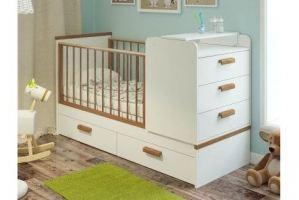 Кроватка Виктория -трансформер - Мебельная фабрика «Атон-мебель»