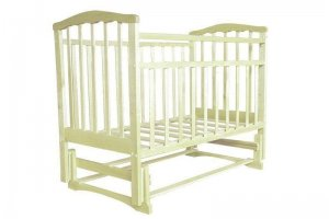 Кроватка Золушка 3 маятник поперечный - Мебельная фабрика «AvtoBaby»