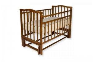 Кроватка Золушка 5 маятник продольный - Мебельная фабрика «AvtoBaby»