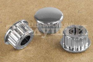 Заглушка круглая хромированная Ø10 мм Артикул 210212600 - Оптовый поставщик комплектующих «Заглушки»