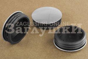 Заглушка круглая хромированная Ø50 мм Артикул 110224552 - Оптовый поставщик комплектующих «Заглушки»