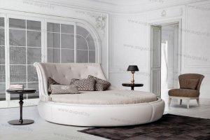 Круглая кровать ARL-003 - Мебельная фабрика «Август»