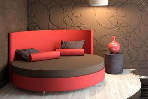 Круглая кровать Caprice - Мебельная фабрика «Конкорд»