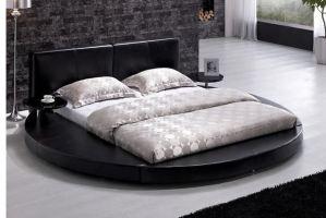 Круглая кровать Неаполь - Мебельная фабрика «Уют»