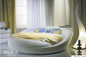 Круглая кровать Онтарио - Мебельная фабрика «NIKA premium»