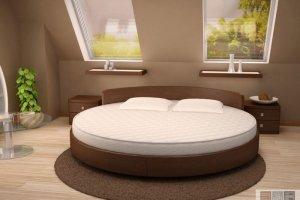 Круглая кровать в спальню - Мебельная фабрика «Актуаль-М»