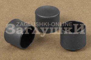 Заглушка круглая наружная Ø25 мм Артикул 25НЧВ - Оптовый поставщик комплектующих «Заглушки»