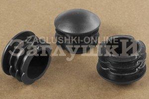 Заглушка круглая сферическая Ø40 мм Артикул 40СМЧК - Оптовый поставщик комплектующих «Заглушки»