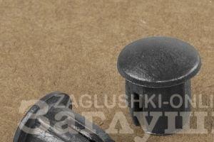 Круглая внутренняя заглушка Ø10 мм Артикул 10ДЧН - Оптовый поставщик комплектующих «Заглушки»