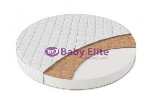 Круглый матрас Hollo Lap Coco - Мебельная фабрика «Baby Elite»