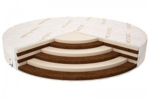 Круглый матрас Sandwich - Мебельная фабрика «Мистер Матрас»