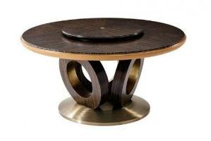 Круглый обеденный стол парадокс - Импортёр мебели «Theodore Alexander»