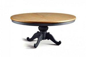Круглый обеденный стол  Тодэс с фигурной ножкой - Мебельная фабрика «WOODGE»