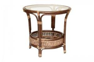 Круглый стол 02/15 C из ротанга - Импортёр мебели «Радуга»