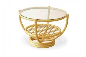 Круглый стол 05/02 из ротанга - Импортёр мебели «Радуга»