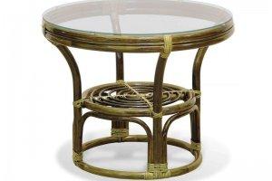 Круглый стол 05/11 из ротанга - Импортёр мебели «Радуга»