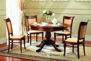 Круглый стол и стулья - Мебельная фабрика «Агата»