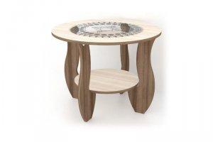 круглый Журнальный стол Милана - Мебельная фабрика «Мебель эконом»