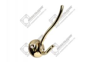 Крючок DW49 G3 золото - Оптовый поставщик комплектующих «Мебельщик»