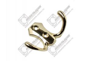 Крючок HW89 G3 золото - Оптовый поставщик комплектующих «Мебельщик»