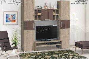 Мебель для гостиной Куба-2 - Мебельная фабрика «Дара»