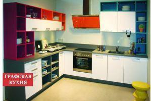 Кухни hi-tech угловая Дизи - Мебельная фабрика «Графская кухня»