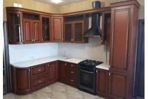 Кухонный гарнитур темный угловой - Мебельная фабрика «Рестайл»