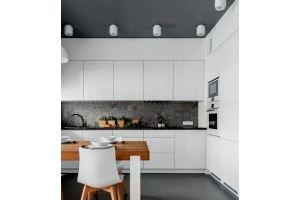 Белая кухня 15 - Мебельная фабрика «КухниСтрой+»