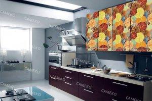 Кухня 2 из лаковых панелей - Мебельная фабрика «Самеко»