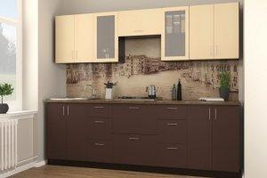 Кухня прямая - Мебельная фабрика «Континент-мебель»