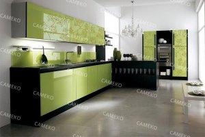 Кухня 3 из лаковых панелей - Мебельная фабрика «Самеко»