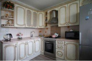 КУХНЯ 3 МДФ ПВХ ПАТИНА - Мебельная фабрика «КухниСтрой+»