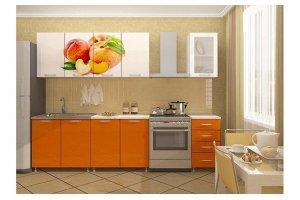 Кухня 33 с фотопечатью - Мебельная фабрика «Модерн»