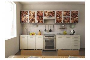 Кухня 34 с фотопечатью - Мебельная фабрика «Модерн»