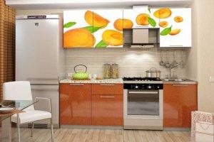 Кухня 35 с фотопечатью - Мебельная фабрика «Модерн»