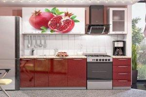 Кухня 36 с фотопечатью - Мебельная фабрика «Модерн»