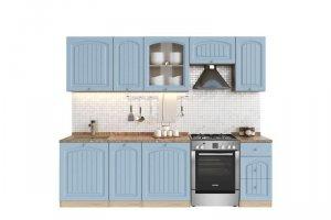 Кухня №4 Арка тополь скай 2.0 - Мебельная фабрика «Кентавр 2000»