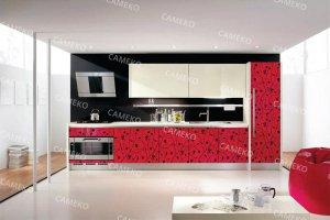Кухня 4 из лаковых панелей - Мебельная фабрика «Самеко»
