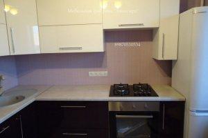 Кухня 42 с фасадами эмаль - Мебельная фабрика «Авангард»