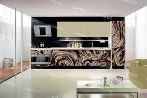 Кухня 5 из лаковых панелей - Мебельная фабрика «Самеко»